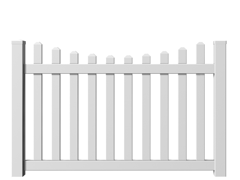 Ashbery II Picket Fence