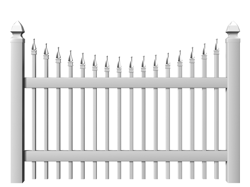 Crowne Point Picket Fence