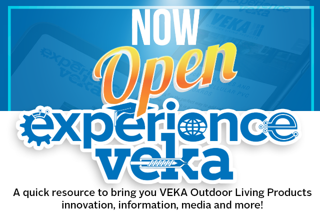 Experience VEKA Coming Soon;